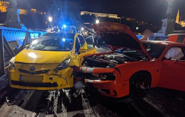 A Lánchídon éjjel történt baleset egyik elszenvedője megírta, hogy mi történt