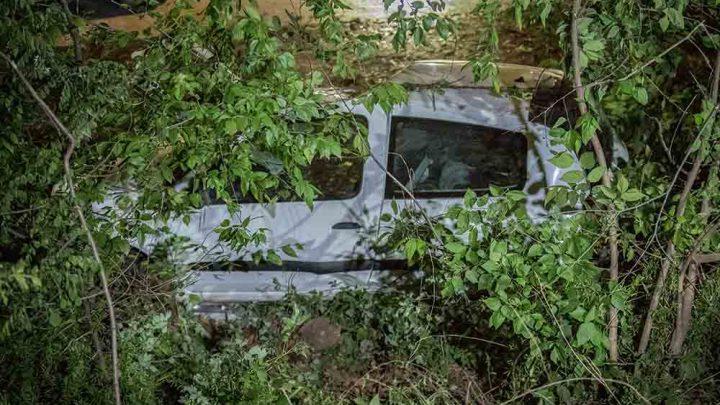 FOTÓK: A rendőrség telephelyére zuhant be egy autó az éjjel