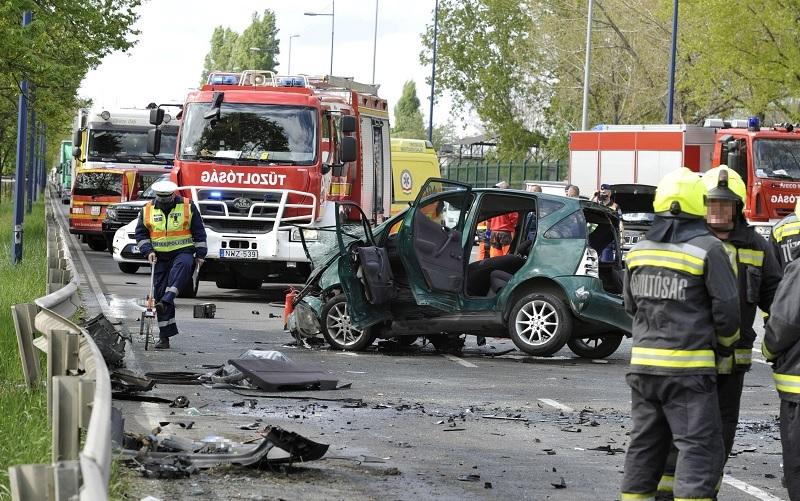Visszaeső szabályszegő a gyorsforgalmin történt baleset okozója és a rendőrséggel sem működik együtt