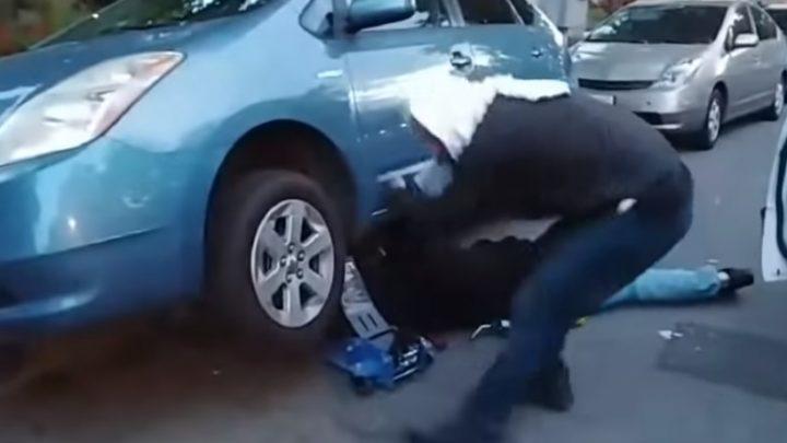 VIDEÓ: Nehéz szavakat találni arra, ahogy viselkednek ezek a tetten ért katalizátor tolvajok