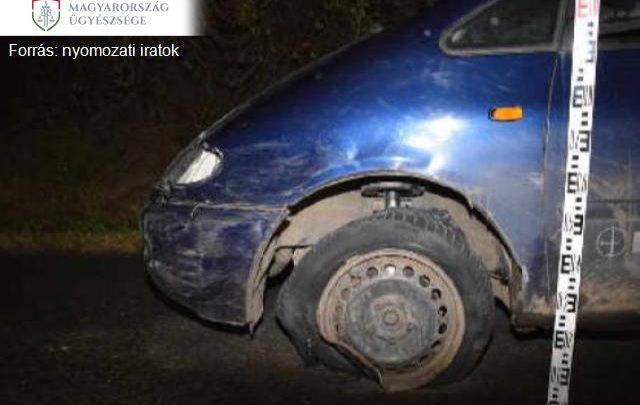Egy szemtanú vette üldözőbe és fogta el az ittas sofőrt, aki cserbenhagyásos balesetet okozott