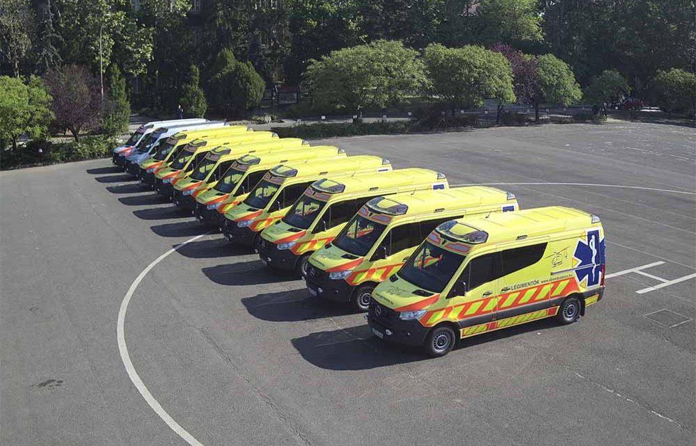 10 MENTŐAUTÓVAL bővült a RENDŐRSÉG gépjárműparkja – nem elírás :)