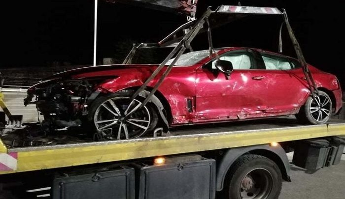 Ittasan törte rommá autóját az Edda dobosa – Úgy tűnik bukja a jogosítványát