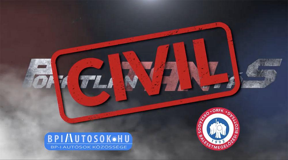 VIDEÓ: Civil Pofátlan(tan)ítás néven indult el a rendőrség új sorozata az oldalunkon publikált felvételek alapján