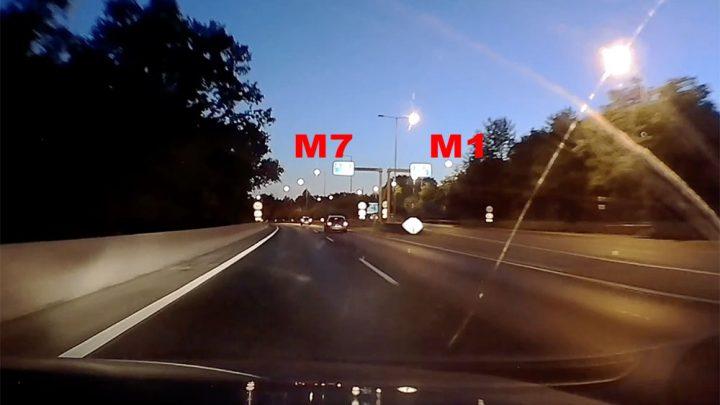 """VIDEÓ – M1-M7 """"útelágazódás"""": """"Ez mit csinál? Ez mi a f…. csinál?"""""""