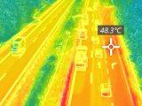 VIDEÓ: Hőkamerás felvételen nézheted meg, milyen forróság volt az M7-es autópályán