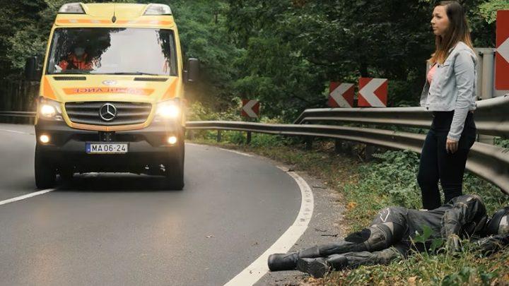 VIDEÓ: Megrázó videóval hívja fel a figyelmet a motorozás veszélyeire a Balesetmegelőzési Bizottság