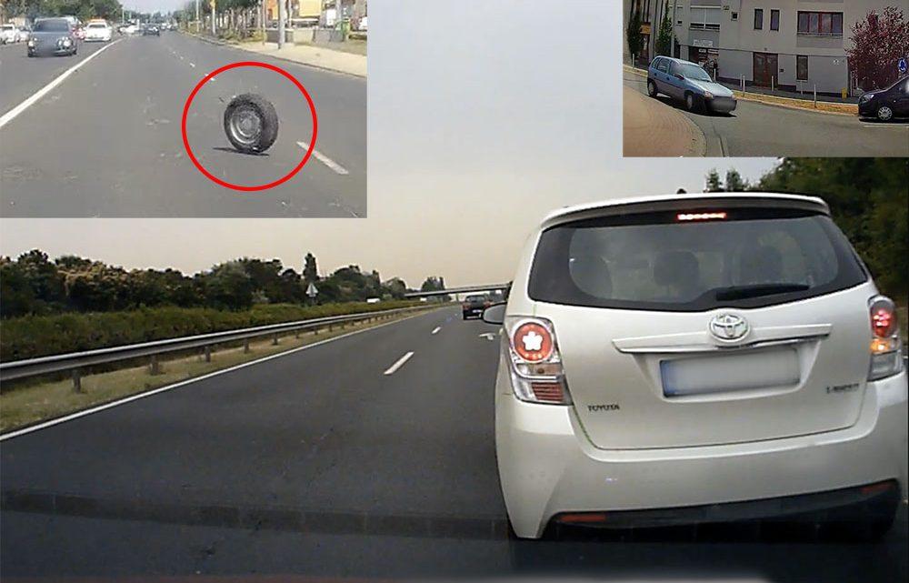 VIDEÓ: Balról érkező keréknek elsőbbsége van? Mutatjuk, hogyan ne sorolj ki egy autópályáról, valamint újabb körforgalom zsonglőr a porondon