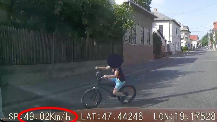 VIDEÓ: Életet mentett a sors és a sebességhatár betartása