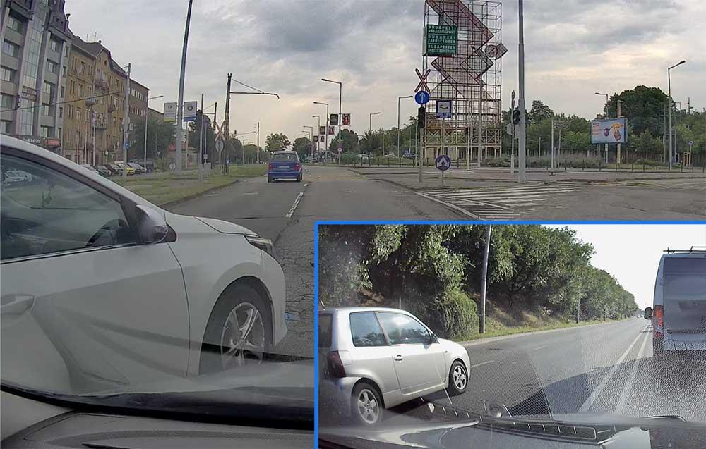 VIDEÓ: Óriási mentés a Kerepesin és egy igazi pofátlan a 6-os úton