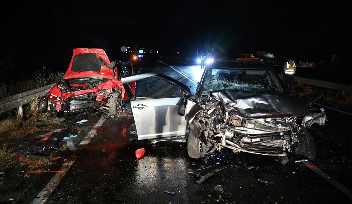 FOTÓK: Halálos baleset történt éjjel Üllőnél