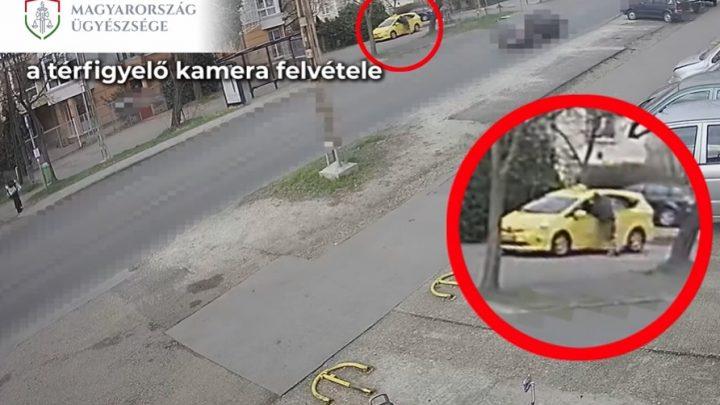 VIDEÓ: Letöltendőt kaphat a férfi, aki késsel fenyegetve próbált kirabolni egy taxist
