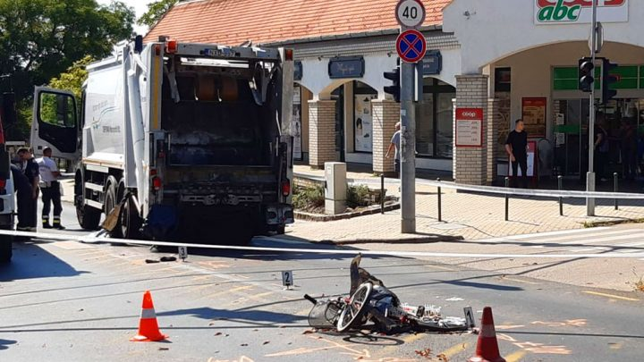 Kukásautó gázolt halálra egy kerékpárost Budakeszin