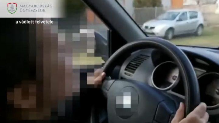 VIDEÓ: Felfüggesztett börtönt kért az ügyész az apára, aki engedte vezetni 10 éves lányát