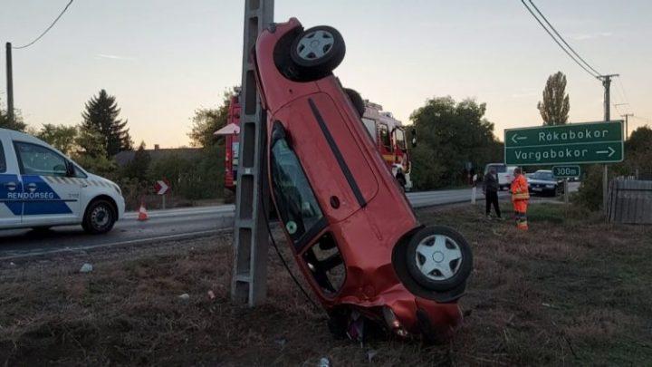Így ért véget egy baleset Vargabokornál