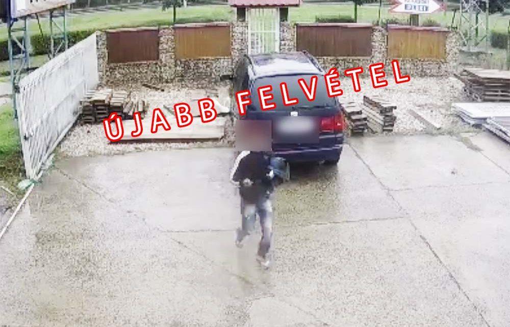 Újabb felvételt kaptunk a Szegeden károkozó, majd lelépő sofőrről